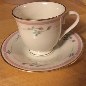 Lenox Rose manor cup and saucer